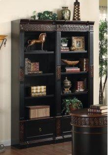 Dbl Bookcase