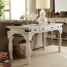Regan - Writing Desk - Farmhouse White Finish
