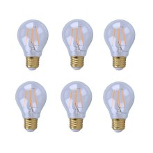 LED A19, 2200K, 360°, CRI80, ETL, 4.5W, 40W EQUIVALENT, 15000HRS, LM400, DIMMABLE, 2 YEARS WARRANTY, INPUT VOLTAGE 120V 6 PACK