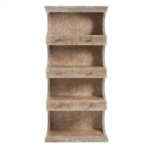 Juniper Dell Bookcase English Clay