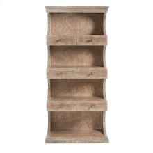 Juniper Dell Bookcase English Clay