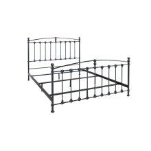 Metal Bed In Dark Graphite Finish