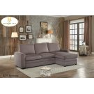Reversible Sectional with Pull-out Bed and Hidden Storage Product Image