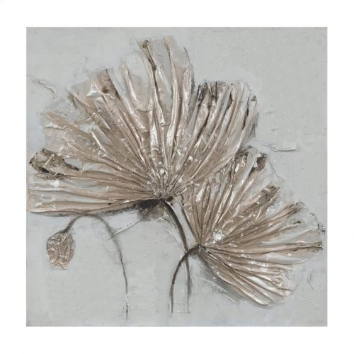 Shimmering Fronds Wall Décor
