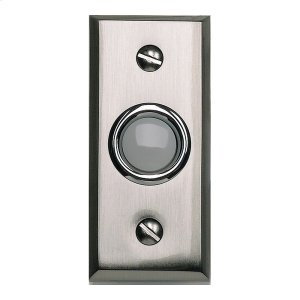 Mission Door Bell - Brushed Nickel Product Image