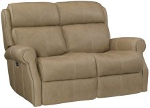 McGwire Power Motion Loveseat in #44 Antique Nickel