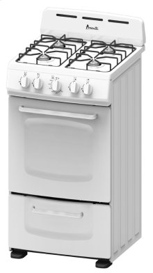 "20"" Freestanding Gas Range"