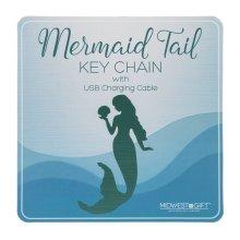 Mermaid USB Keychain Sign