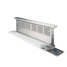 """Stainless Steel 36"""" Wide Rear Downdraft with Controls on Intake Top - VIPR (36"""" width)"""