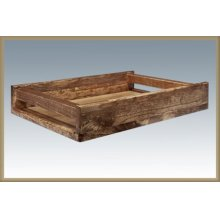 Homestead Serving Tray - Stained & Lacquered