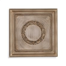 Laurel Wreath Wall Medallion