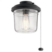 Yorke Collection Yorke Ceiling Fan Light Kit DBK
