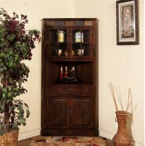 Santa Fe Corner China Cabinet Product Image