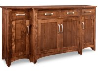 Glengarry Sideboard w/Bump Out & 4/Wood Doors & 4/Dwrs & 1/Wood Halfshelf Product Image