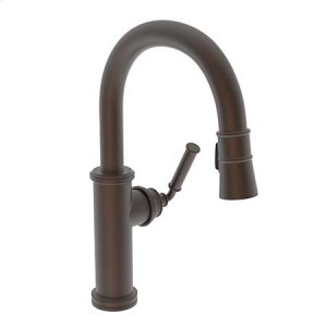 English Bronze Prep/Bar Pull Down Faucet