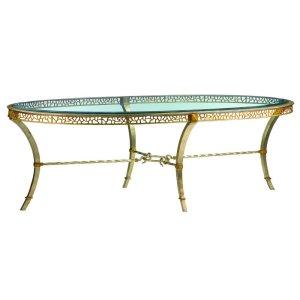 Bolero Oval Cocktail Table
