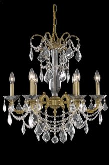 9706 Athena Collection Hanging Fixture French Gold Finish