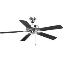 """AirPro Collection 52"""" Five-Blade Ceiling Fan"""