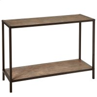 Console Table with Woven Pattern. Product Image
