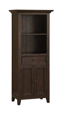 Tuscan Retreat® Display Cabinet - Rustic Mahogany