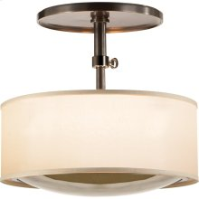 Visual Comfort BBL5024BZ-S Barbara Barry Reflection 2 Light 15 inch Bronze Hanging Shade Ceiling Light