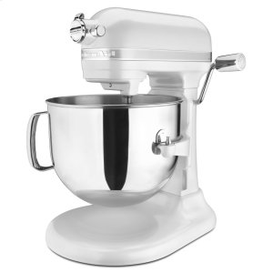 KitchenaidRefurbished 7 Qt Bowl Lift Stand Mixer - Frosted Pearl White