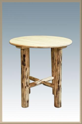 Montana Log Bistro Table Hidden