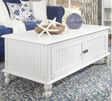 Coffee Table Beach White