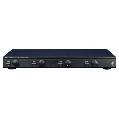 Speaker Selector with Volume Controls for Four Pairs of Speakers SSVC-4