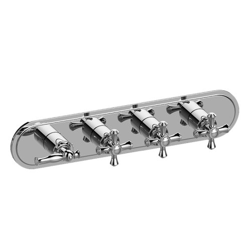 Lauren M-Series Valve Horizontal Trim with Four Handles