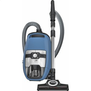 MieleBlizzard CX1 TurboTeam PowerLine - SKCE0 Bagless canister vacuum cleaners with turbo brush for hard floor and low, medium-pile carpeting.