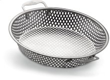Stainless Steel Grilling Wok