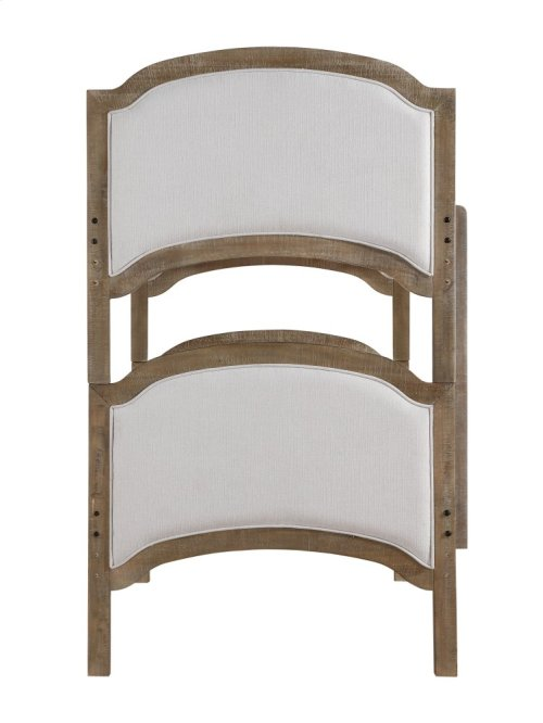 Emerald Home B207-17-k Chancellor Twin Bunk Bed, Weathered Bark