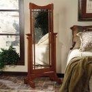 """""""Mission Oak"""" Cheval Mirror Product Image"""
