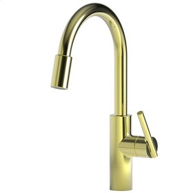 Forever-Brass-PVD Pull-down Kitchen Faucet