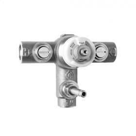 "1/2"" Thermostatic Valve with Integral Volume Control"