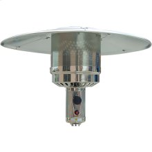 Round Wicker Patio Heater, 7' tall, Propane, 41,000 BTU