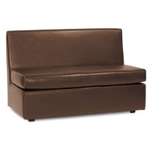 Slipper Loveseat Avanti Pecan