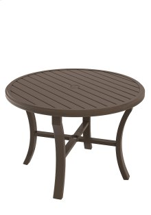"Banchetto 42"" Round Dining Umbrella Table"