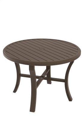 "Banchetto 42"" Round Dining Umbrella Table"