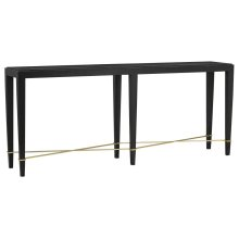 Verona Black Console Table