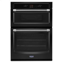 Maytag® 30-inch Wide Combination Wall Oven with Precision Cooking System - Black