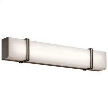 "Impello Collection Impello 30"" Linear LED Bath Light OZ"