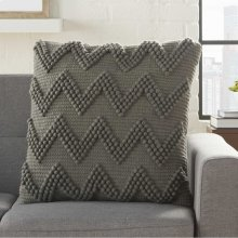 """Life Styles Dc173 Charcoal 20"""" X 20"""" Throw Pillows"""