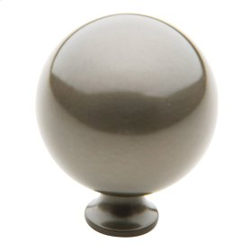 Antique Nickel Spherical Knob