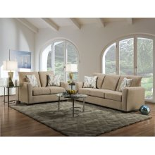 1210 - Surge Honey Loveseat