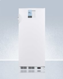 """24"""" Wide 10 CU.FT. Auto Defrost Commercial All-refrigerator With Lock, Digital Thermostat, Internal Fan, and Access Port for User-provided Monitoring Equipment"""