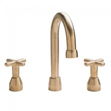 "Lav. Deck Mount Faucet (10 7/16"") Silicon Bronze Brushed"