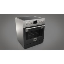 "30"" Induction Pro Range - Glossy Black"
