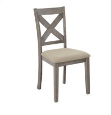 Dining Chairs (2/Ctn) - Mystic Gray Finish